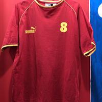 【USED 古着】PUMA社製 スペイン代表モデル サッカーゲームシャツ used0023