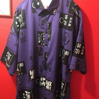 架空の酒造メーカープリント 半袖シャツ tb-190501-10