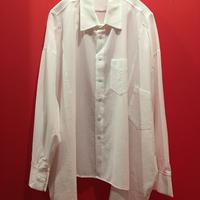 変形オーバーサイズドレープシャツ tb-190808-1
