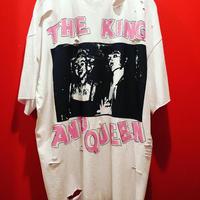 シド&ナンシー ダメージ加工オーバーサイズTシャツ tb-190409-3