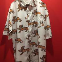 虎プリント 半袖シャツ tb-190501-11