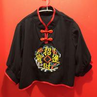 刺繍チャイナトップス tb-190902-8