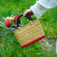 <CLOUDY×gui>FLOWER BASKET SET(RED)
