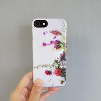 "【Summer museum】iPhone case ""Protea""(iPhone6/6s/7/8、iPhoneX/XS)"