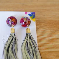 "【Summer Museum】tassel pierce ""瑠璃紺"""