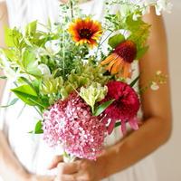 【7月18日お届け】片桐花卉園直送Thank you bouquet!