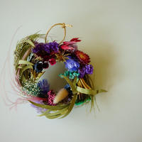 "【Summer Museum】mini wreath ""mid summer"""