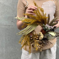 "autumn wreath M ""lagurus"""