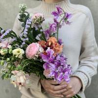 """【2月29日お届け】""""花の日""""ラナンキュラスのブーケ"""