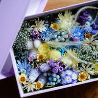 FLOWER GIFT BOX(YELLOW)