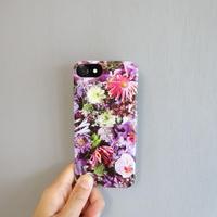 "iPhone case ""Orchid""(iPhone6/6s/7/8、iPhoneX/XS)"