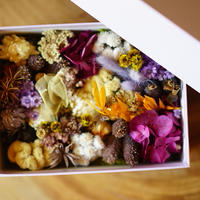 FLOWER GIFT BOX(PURPLE)