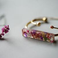 "【Summer Museum】bangle ""Sheer pink"""