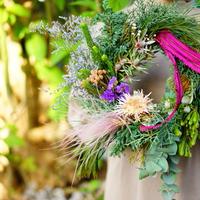 【gui christmas】French ribbon wreath <L>