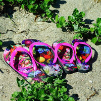 """flower trip"" beach sandals(family set)"