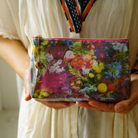 """flower trip"" original pouch"