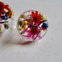 """【Candy series】Candy earrings """" apple  cherry """""""