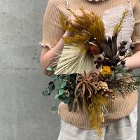 """autumn wreath M """"tea tree"""""""