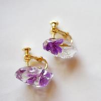 "【bijou series】bijou pierce/earrings  ""lapeirousia"""