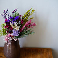 swag mini & flower vase<beige>(for mother's day)