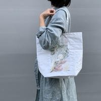 flower bag S (white)