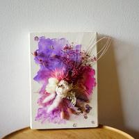 """Drawing flower summer """"Plum 1"""""""
