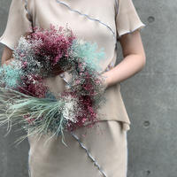 【Summer museum】 BABY'S BREATH WREATH M