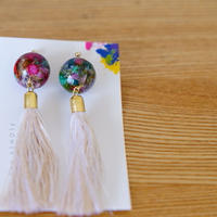 "【Summer Museum】tassel pierce ""卯の花色"""