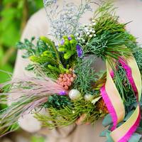 【gui christmas】French ribbon wreath <M>