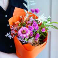 【毎月1回の定期便】Monthly flower bouquet