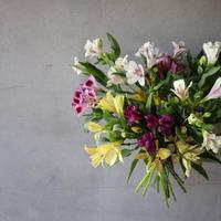 片桐花卉園直送thank you bouquet!(ショルダーバッグ付)