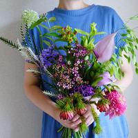 Seasonal gift bouquet S (July)