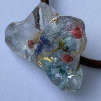 【bijou series】bijou hair accessory (blue coral)