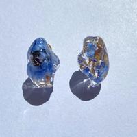 【bijou series】bijou earrings (lapis lazuli)