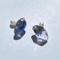 【bijou series】bijou pierce (lapis lazuli)