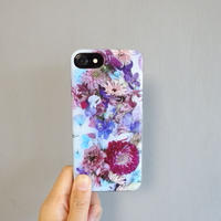 "iPhone case ""Dahlia""(iPhone6/6s/7/8、iPhoneX/XS)"