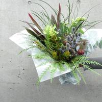 Green bouquet (August)