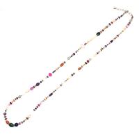 gunda<ガンダ>GALAXY MULTI NECKLACE/Silver/Long [ギャラクシーマルチネックレス/シルバー/ロング] ONE OF A KIND[一点物]