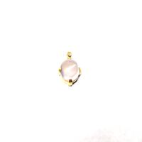 gunda<ガンダ>CANDY NECKLACE 20-18(Rose Quartz)[キャンディネックレス 20-18(ローズクォーツ)]ONE OF A KIND[ 一点物]