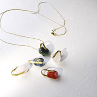 Brass & Gemstone Necklaces
