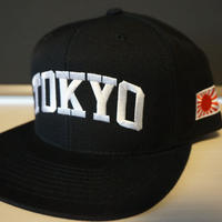 "RUGGED ""NAVY"" Snapback cap (Black)"