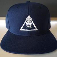 RUGGED''TOKYO MASON'' snapback (Navy)