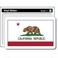 州旗ステッカー  カリフォルニア州 (California)