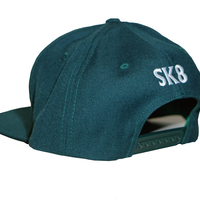 "GURIRUBOOTH©  ""LOGO"" snap back (GREEN)"