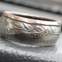 coin ring   (Georgia州 25セント)