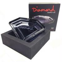 DIAMOND ASHTRAY / SMOKE BLACK