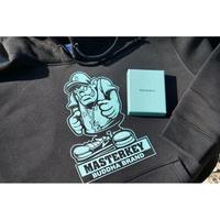 """DJ MASTERKEY """"buddha brand"""" ×gurirubooth   (2xl)"""