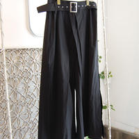SHIROMA 19-20A/W high waist tack pants