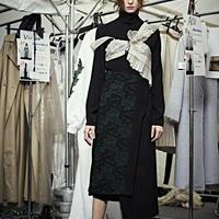 SHIROMA 19-20A/W wool wrap skirt