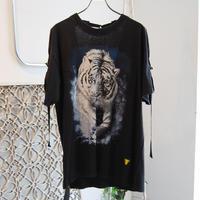 SHIROMA remake spindle T-shirts【5】